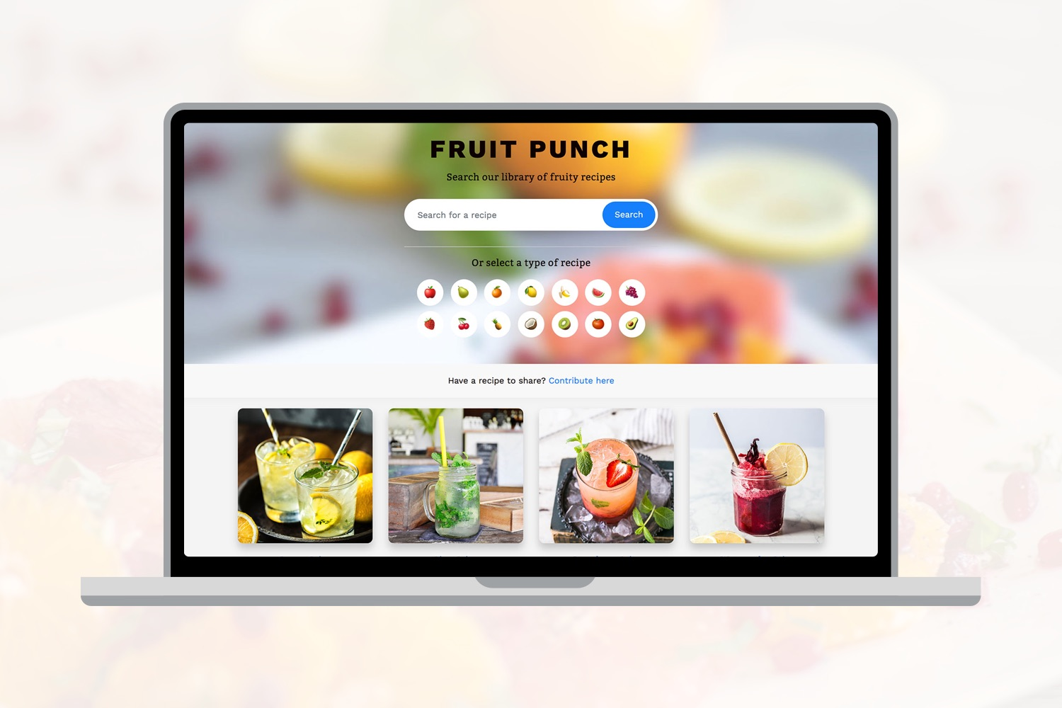 Fruit Punch Website